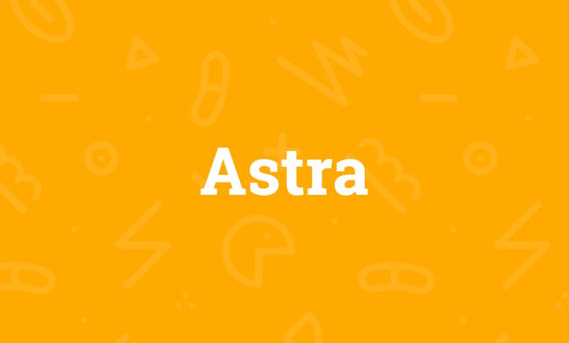 Astra – Meine Erfahrungen mit dem WordPress-Theme